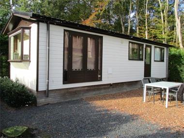 Grote foto gemeubileerde woonruimte tijdelijk te huur tegen bos gelegen caravans en kamperen overige caravans en kamperen