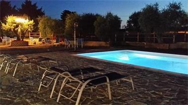 Grote foto luxe safaritent op kleine camping in toscane vakantie italie