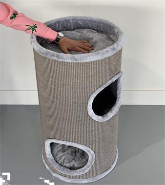 Grote foto krabton coony 80 light grey. keuze 352x krabpaal dieren en toebehoren katten accessoires