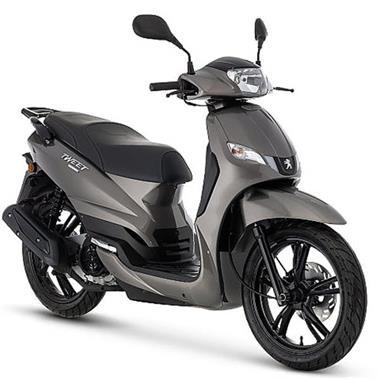 Grote foto peugeot tweet evo scooter kopen bij central scooters brons fietsen en brommers scooters