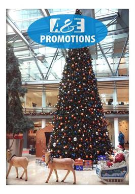 Grote foto coca cola kerstman dickens kerstitems verhuur diversen kerst