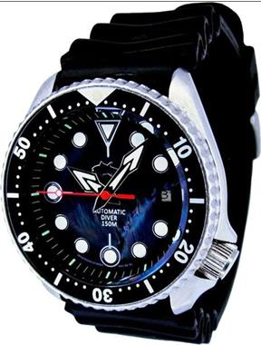 Grote foto seiko modified hybrid tuna scuba divers model no. 7002 kleding dames horloges