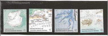 Grote foto aat landkaarten postzegels en munten thematische zegels
