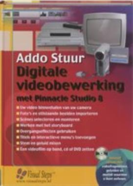Grote foto te koop het addo stuur boek pinnacle studio 8. boeken informatica computer