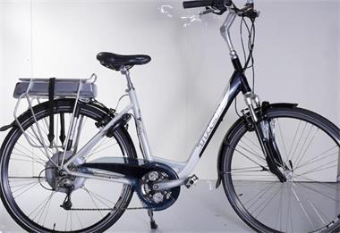 Grote foto trek t500 plus navigator dames e bike 50cm wit fietsen en brommers elektrische fietsen