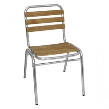 Grote foto essenhouten terrasstoel met of zonder armleuning per 4 diversen overige diversen