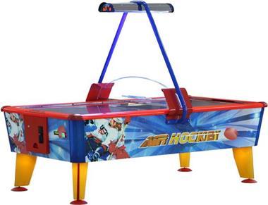 Grote foto buffalo airhockeytafel ice 8ft met muntproever kinderen en baby overige