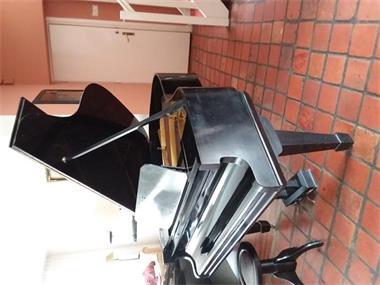 Grote foto baby vleugel muziek en instrumenten piano en vleugels