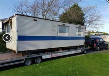 Grote foto gezocht veluwetour 7.50 mtr x 2.50 mtr. caravans en kamperen stacaravans