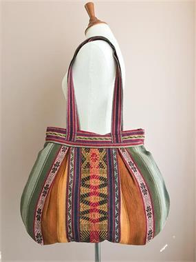 Grote foto handgeweven schoudertas uit peru sieraden tassen en uiterlijk schoudertassen