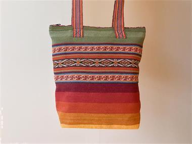 Grote foto handgeweven tas uit peru sieraden tassen en uiterlijk schoudertassen