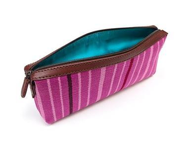 Grote foto handgemaakt lila handtasje uit peru sieraden tassen en uiterlijk damestassen
