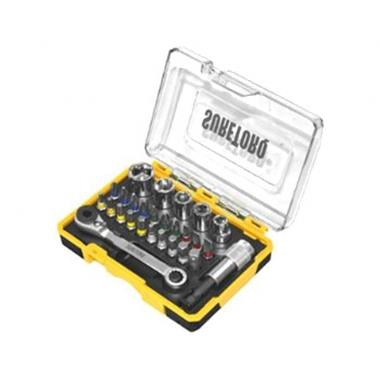 Grote foto suretorq mini dop bit set auto onderdelen accessoire delen