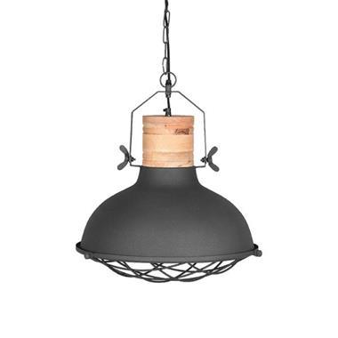 Grote foto label51 hanglamp grid grijs 34 cm huis en inrichting overige