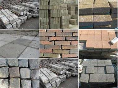 Grote foto goedkope beton en gebakken klinkers en tegels tuin en terras sierstenen en rotsen