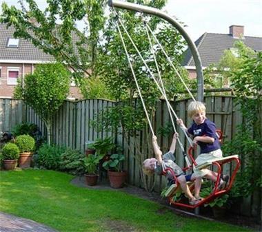 Grote foto schommel speeltoestel speeltoestel speelgoed kinderen en baby speelgoed voor jongens