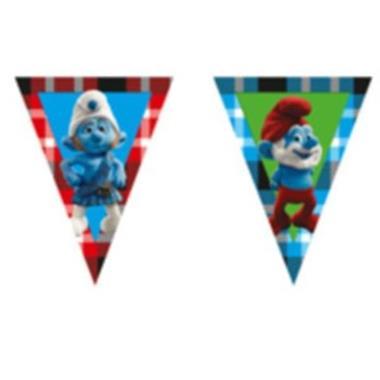 Grote foto kinderfeest feestversiering de smurfen diversen versiering