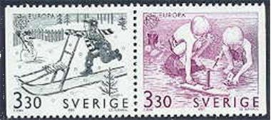Grote foto europa zweden verzamelen postzegels overige