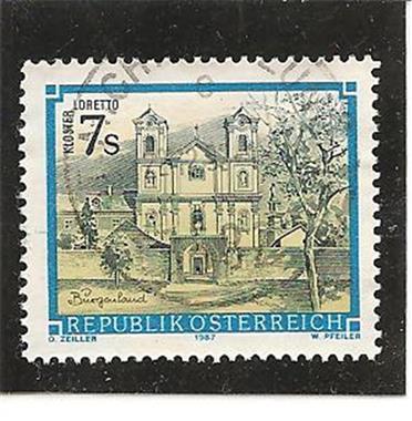 Grote foto klooster loretto verzamelen postzegels oostenrijk