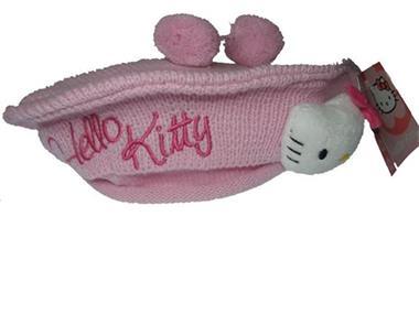 Grote foto hello kitty wollen baret met pompoenen kinderen en baby mutsen sjaals en wanten