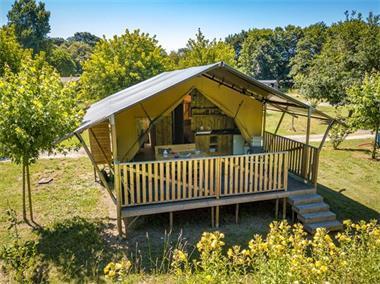 Grote foto luxe safaritenten itali op kleine campings vakantie campings