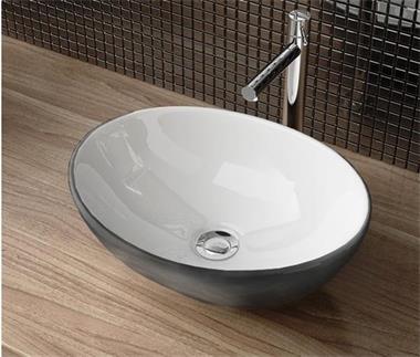 Grote foto luxe design waskommen in natuursteen glas keramiek huis en inrichting complete badkamers