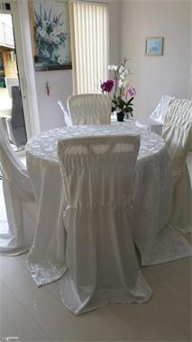 Grote foto te koop tafelkleed en stoelhoezen diensten en vakmensen feesten