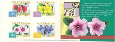 Grote foto postzegelboekje bloemen australie verzamelen postzegels overige