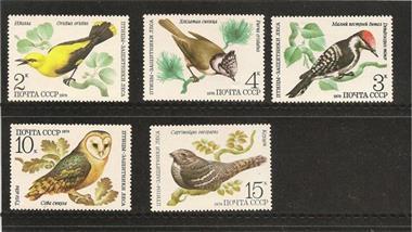 Grote foto vogels ussr verzamelen postzegels overige
