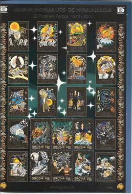 Grote foto myths and legends faroyar verzamelen postzegels overige