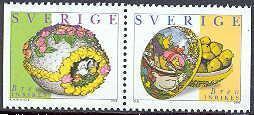 Grote foto pasen uit zweden verzamelen postzegels overige