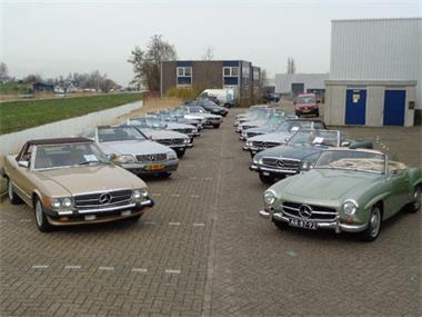 Grote foto mercedes sl specialist keuze uit 25 sls 1955 2004 auto mercedes