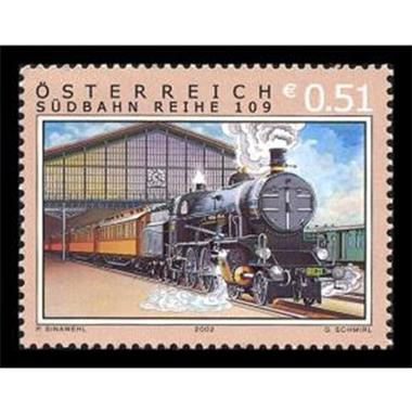 Grote foto sudbahn 2002 verzamelen postzegels oostenrijk
