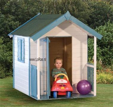 Grote foto speelhuisje pinokkio houten speelhuisje kinderen en baby los speelgoed