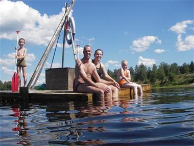 Grote foto safaritent huren in v rmland zweden vakantie zweden