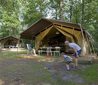 Grote foto luxe tent op campings in frankrijk vakantie frankrijk