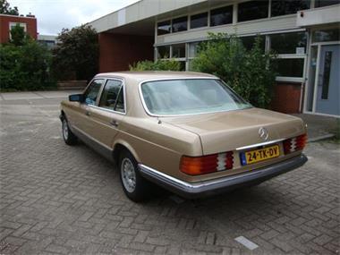 Grote foto mercedes 280 se type 126 1981 in topstaat auto mercedes