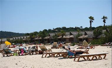 Grote foto caravan st tropez direct aan de middellandse zee vakantie frankrijk