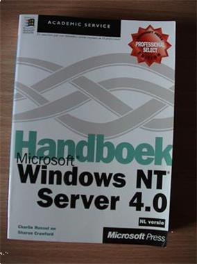 Grote foto te koop boek microsoft handboek windows nt server 4.0 boeken informatica computer