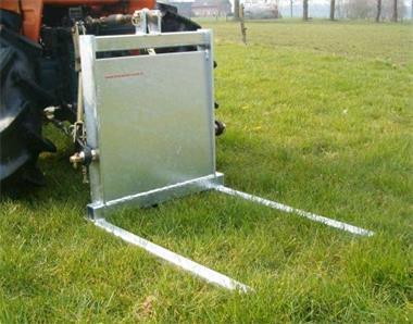 Grote foto palletvork balendrager voor minitrekkers agrarisch tractor toebehoren