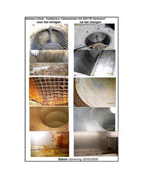 Grote foto afzuiginstallatie onderhoud diensten en vakmensen schoonmakers en glazenwassers