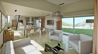Grote foto pinoso moderne vrijstaande villa met zwembad. vakantie spanje