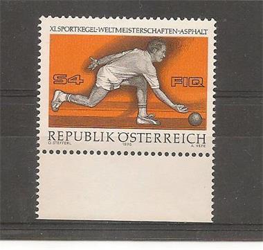Grote foto kegelen oostenrijk verzamelen postzegels oostenrijk