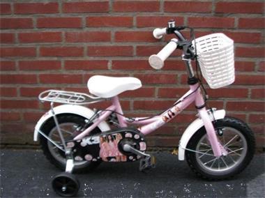 Grote foto k3 meisjesfiets 12 5 inch roze fietsen en brommers herenfietsen