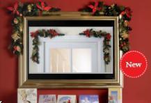 Grote foto hoekversieringen voor raam deur of spiegel diversen kerst