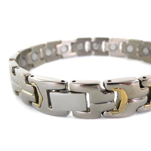 Grote foto armband met magneten model osb 738sg sieraden tassen en uiterlijk armbanden voor hem