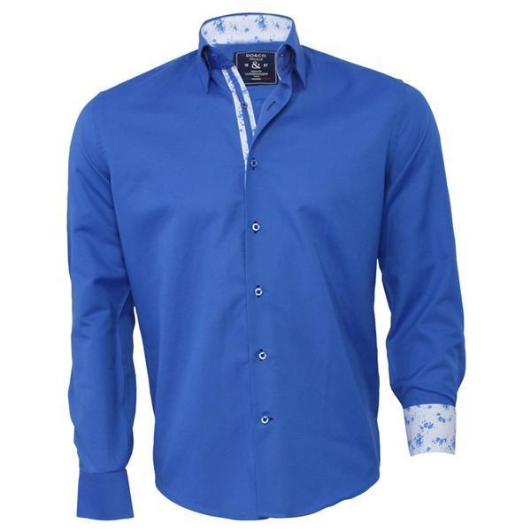 Grote foto italiaanse overhemden bestel je bij italian style kleding heren overhemden