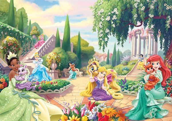 Grote foto disney princess fotobehang prinsessen vlies kinderen en baby inrichting en decoratie