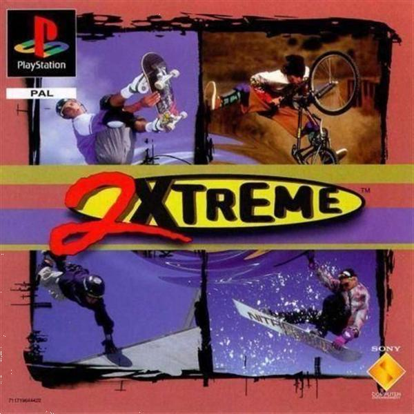 Grote foto ps1 2xtreme spelcomputers games playstation