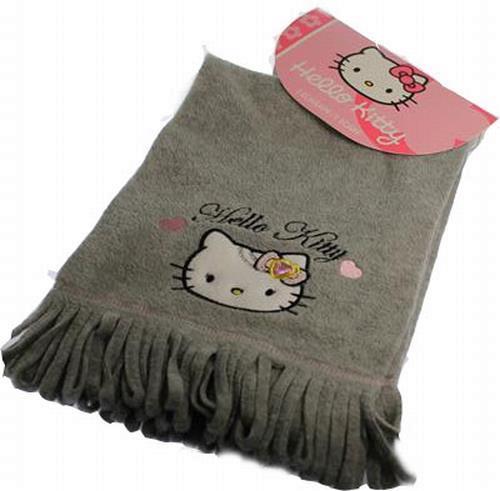 Grote foto sjaal van hello kitty met steentjes nieuw kinderen en baby mutsen sjaals en wanten